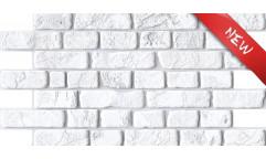 Obkladový 3D panel Bílá cihla D0025