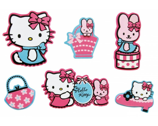 Pěnové mini figurky Hello Kitty D23860