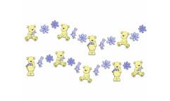 Pěnové mini figurky Medvídci D25801