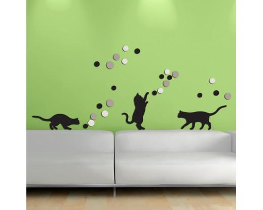 Pěnová samolepka Fancy Cats 58503 Kočky