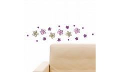Pěnová samolepka Little Flowers 59503 Kytičky