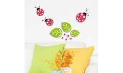 Pěnová samolepka Ladybugs 59509 Berušky