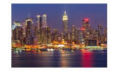 Vliesová fototapeta Manhattan v noci 0003