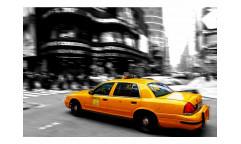 Vliesová fototapeta Žluté taxi 0007