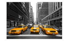 Vliesová fototapeta Taxi ve městě 0008