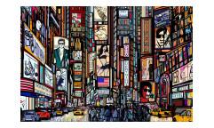 Vliesová fototapeta Náměstí Times Square 0013