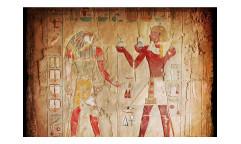 Vliesová fototapeta Egyptská malba 0052