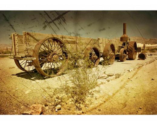 Vliesová fototapeta Starý vagón 0058