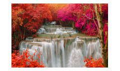 Vliesová fototapeta Vodopád v deštném pralese 0072