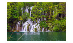 Vliesová fototapeta Plitvická jezera 0078