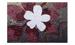Vliesová fototapeta Červená mozaika 0114