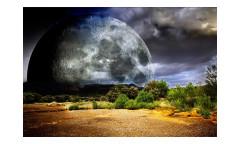 Vliesová fototapeta Měsíc 0185
