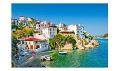 Vliesová fototapeta Řecké pobřeží 0197