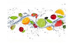 Vliesová fototapeta Ovoce ve vodě 0239