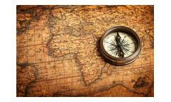 Vliesová fototapeta Kompas a mapa 0264