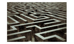 Vliesová fototapeta 3D labyrint 0279