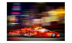 Vliesová fototapeta Závodní auto 0309