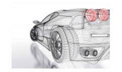 Vliesová fototapeta Světlý model auta 0316