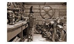Vliesová fototapeta Starobylá garáž 0319