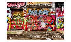 Vliesová fototapeta Ulice s graffiti 0321