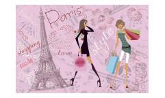 Vliesová fototapeta Pařížský styl 0331