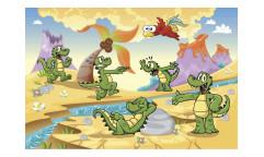 Vliesová fototapeta Krokodýlci 0344