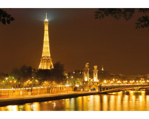 Fototapeta Nuit d´Or, Eiffelova věž 4-321