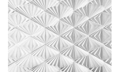 Fototapeta Delta, Bílá geometrie 8-204