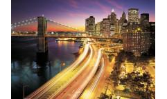 Fototapeta NYC Lights, Město 8-516