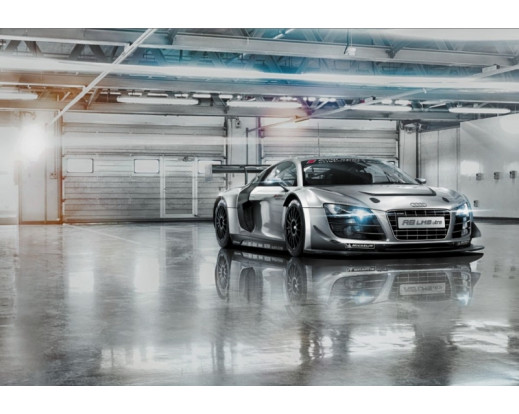 Fototapeta Audi R8 Le Mans 8-957