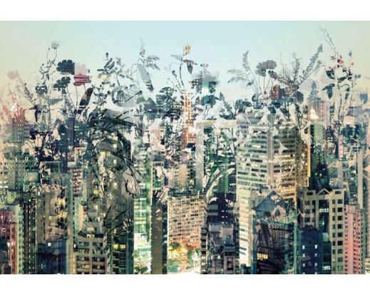 Fototapeta Urban Jungle, Kvetoucí město 8-979