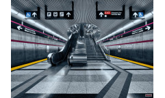 Fototapeta Subway, Metro 8-996