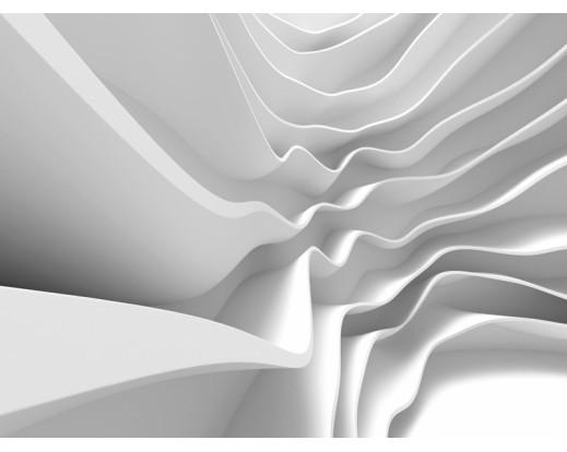 Fototapeta Bílá abstrakce FTN 2403