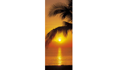 Fototapeta Palmy Beach Sunrise, Východ slunce 2-1255