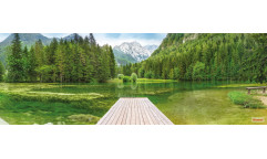 Fototapeta Green Lake, Jezero 4-538