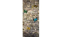 Fototapeta Zeď s motýly FTN 2905