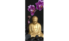 Fototapeta Budha a Orchidea FT 0005, FTN 2805