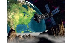 Fototapeta Země, družice FT 0094, FTN 2443