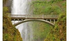 Fototapeta Most u vodopádu FTN 0476
