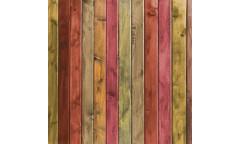 Vliesová fototapeta Wood Plank Red, Červená dřevěná prkna