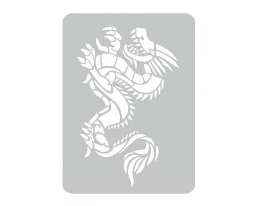 Malířská šablona Drago 01 Drak