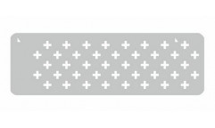Malířská šablona - bordura Pluses 143