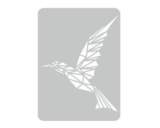 Malířská šablona Humming bird 95 Kolibřík