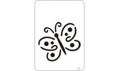 Malířská šablona Mini Fairy 237 Motýlek