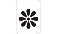 Malířská šablona Mini Daisy 214 Kytička