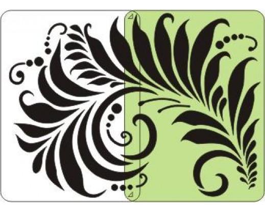 Malířská šablona Feather 310 Peří