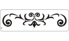 Malířská šablona - bordura Ivy 121 Břečťan