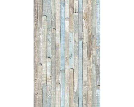 Samolepicí fólie imitace dřeva - Modrošedá prkna 346-8131