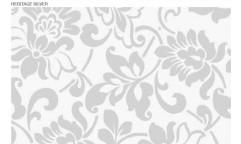 Samolepicí fólie Heritage Silver - Stříbrný motiv 10135, 11021
