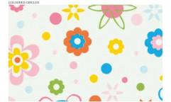 Samolepicí fólie Coloured Circles - Barevné kruhy 12683